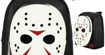 Mini-Mochila Máscara de Hockey Jason Voorhees (Sexta-Feira 13)