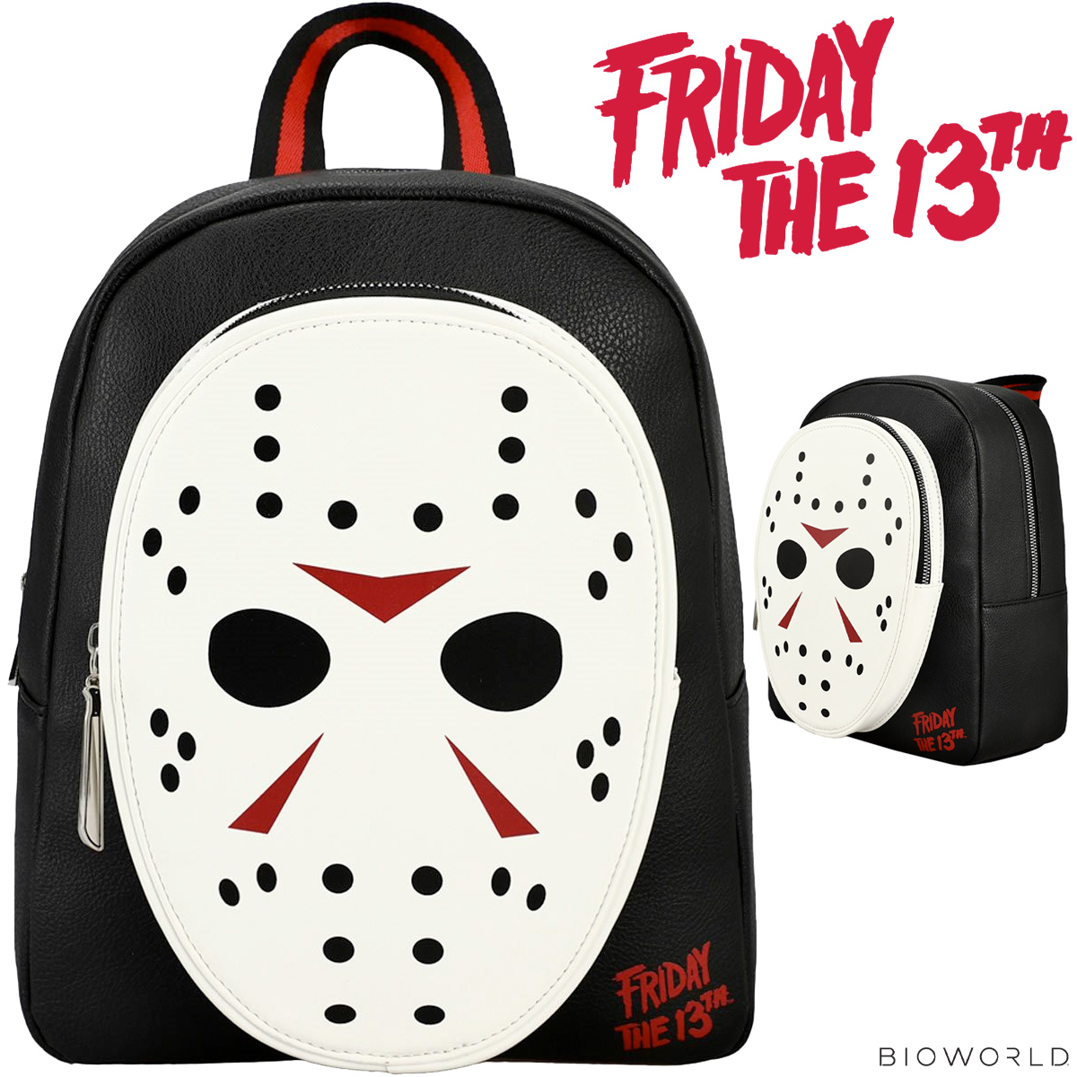 Mini Mochila Sexta Feira 13 Friday the 13th Jason Mask Mini-Backpack