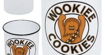 Pote de Cookies Wookiee Cookies (Chewbacca)