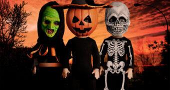 Living Dead Dolls Apresenta: Crianças com Máscaras Silver Shamrock (Halloween III: A Noite das Bruxas)