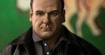 Tony Soprano (James Gandolfini) Action Figure 1:6 Não Autorizada da Família Soprano