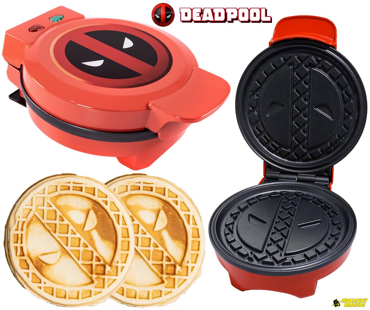 Maquina de Waffle Deadpool (Marvel)