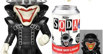 Boneco Batman que Ri Funko Vinyl SODA