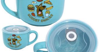 """Caneca de Sopa Scooby-Doo """"Scooby Snacks"""""""