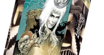 Quebra-Cabeça do Filme Labirinto, A Magia do Tempo com David Bowie e 1.000 Peças