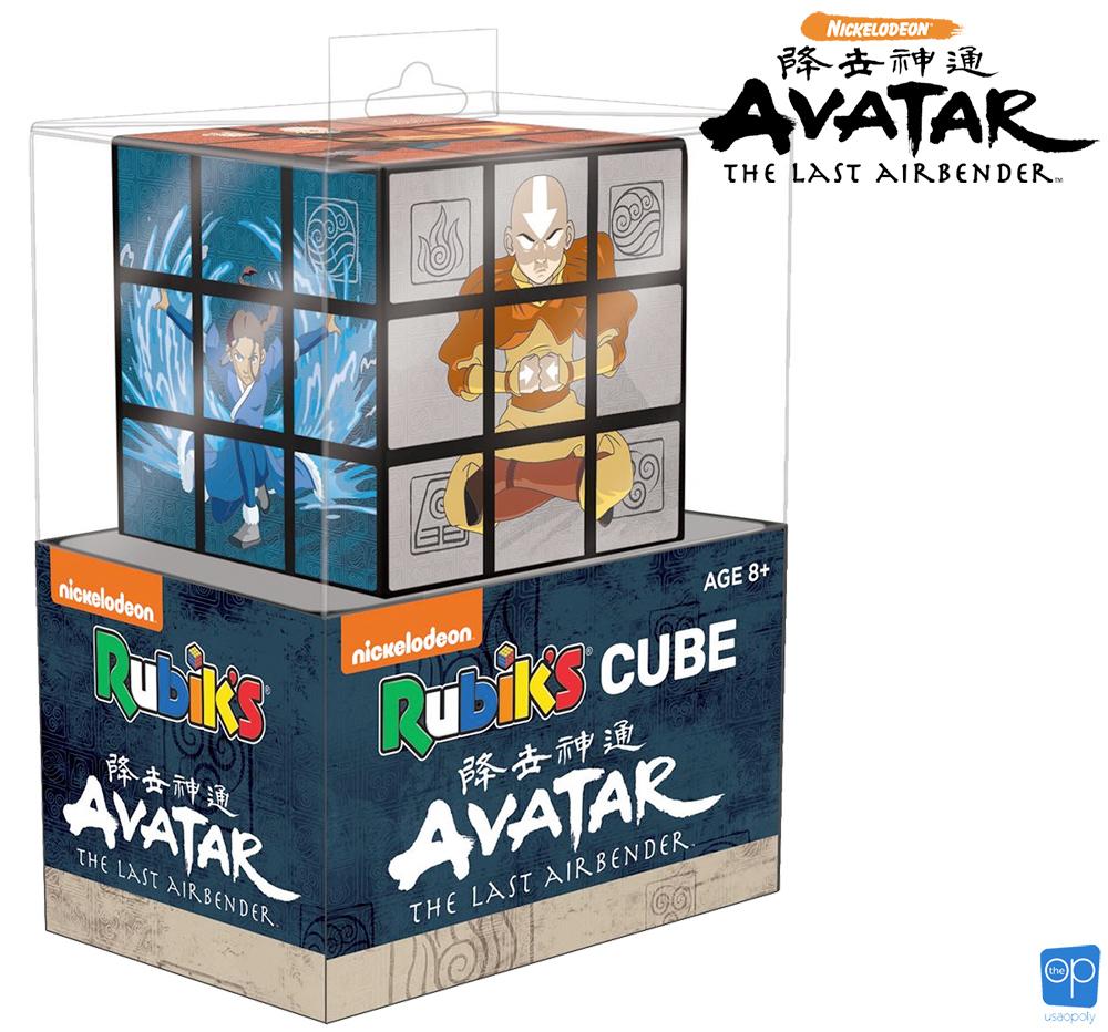 Cubo de Rubik Avatar-A Lenda de Aang