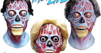 Máscaras Alienígenas do Filme They Live (Eles Vivem) de John Carpenter