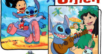 Cobertores de Lance Lilo & Stitch (Disney)