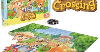 Quebra-Cabeça Animal Crossing com 1.000 Peças